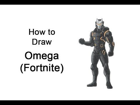 Learn How To Draw Omega From Fortnite Battle Royale With This Step
