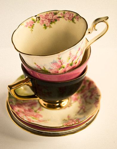 tea-cups by kristi robertson   Tea Time   Pinterest ...