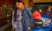 24 years old artist treats his girlfriend with a classy SUV on her birthday