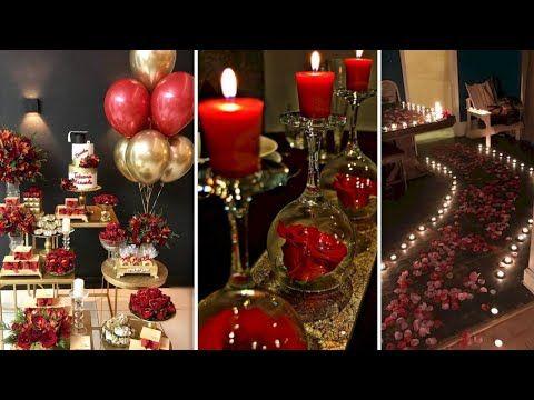 افكار متميزة وجميلة لزينة عيد الحب وعيد Special Creative Ideas For Valentine Day Youtube Holiday Decor Table Decorations Decor