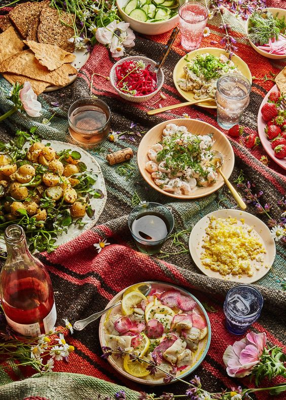 The Picnic Recipes You Need For a Magical Midsummer Spread
