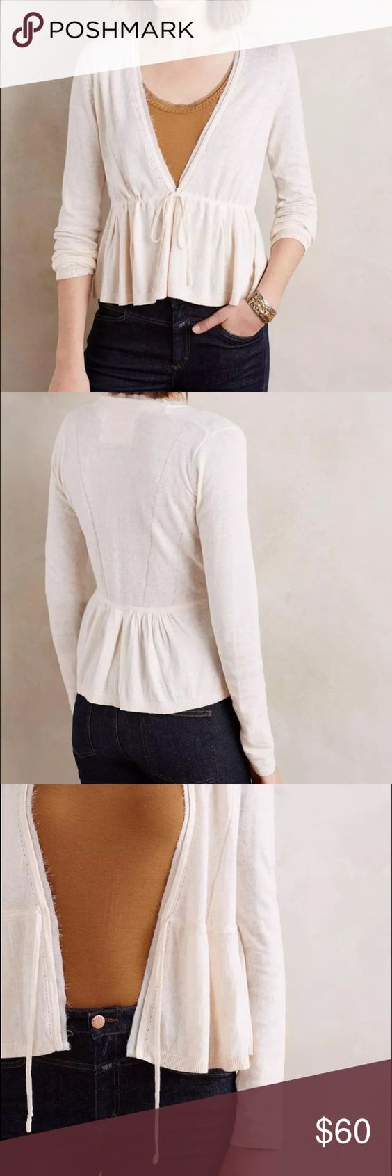 Anthropologie cardigan elly angel of the north XS New, without ...