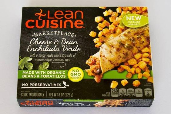 lean cuisine cheese bean enchilada verde best frozen
