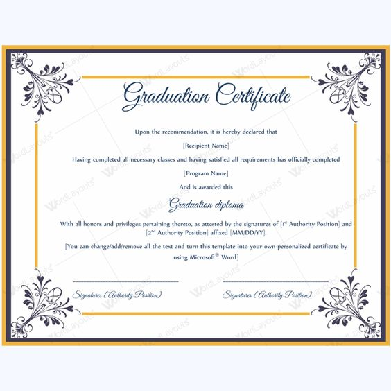 Award Of Honor Certificate Sample #award #awardtemplate - certificate of recommendation sample