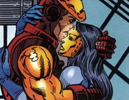 Iron Man and Madame Masque