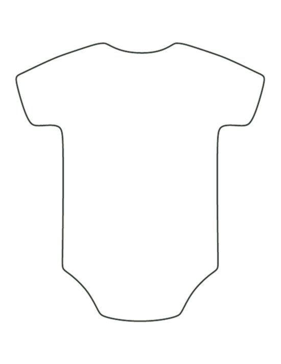 Strampler Muster Verwenden Sie Den Druckbaren Umriss Zum Basteln Erstellen Von Schablonen Scrapbooking Und Mehr Ko Baby Basteln Vorlagen Basteln Schablonen