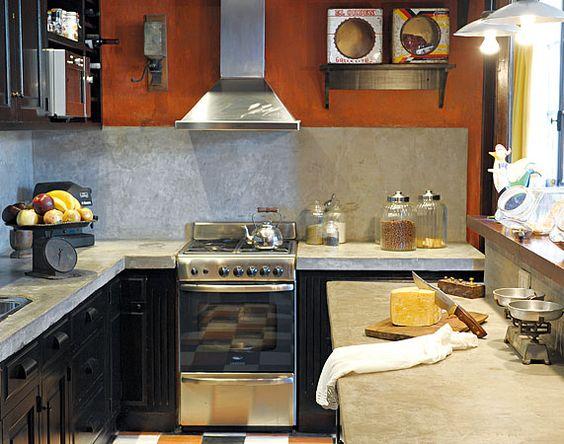 Muebles microcemento alisado buscar con google - Cocinas de microcemento ...