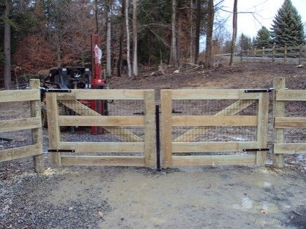 Horse Fence Fence And Gates On Pinterest