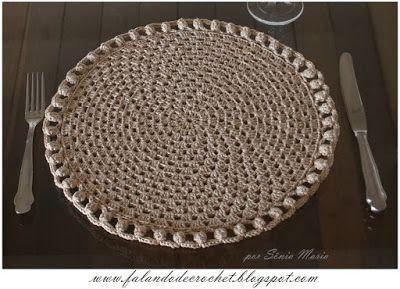 Free pattern SOUSPLAT DE CROCHE GRANNY BARRA PIPOCA