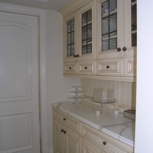 White Traditional Bakers Kitchen - traditional - Kitchen - San Diego - Hamilton-Gray Design, Inc.