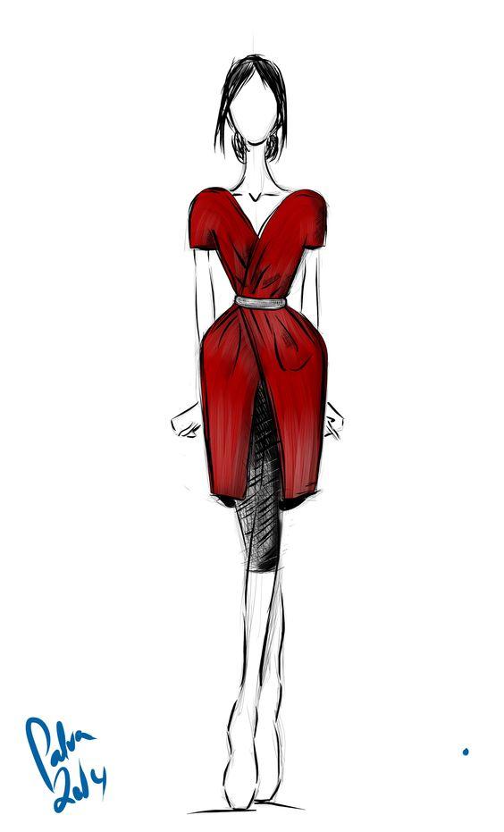 Fashion World Red Dresses