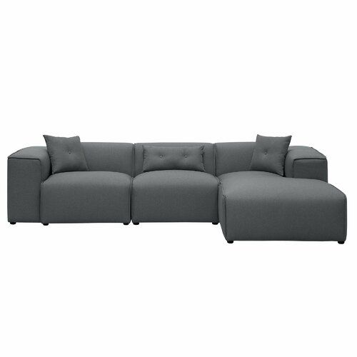 Voyles Corner Sofa Brayden Studio Upholstery Colour Dark Grey Corner Sofa Corner Sofa Design Sofa