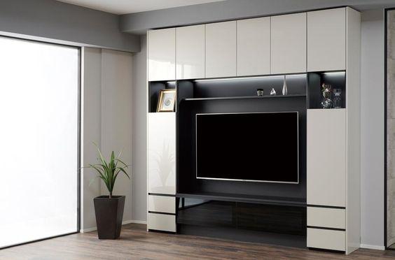 QW | 壁面収納・リビング | 家具メーカーのパモウナ