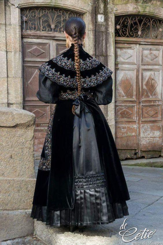 Traje tradicional gallego