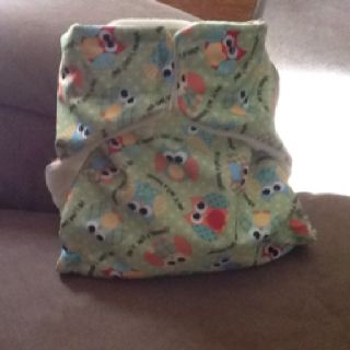 Another one of my homemade cloth diapers