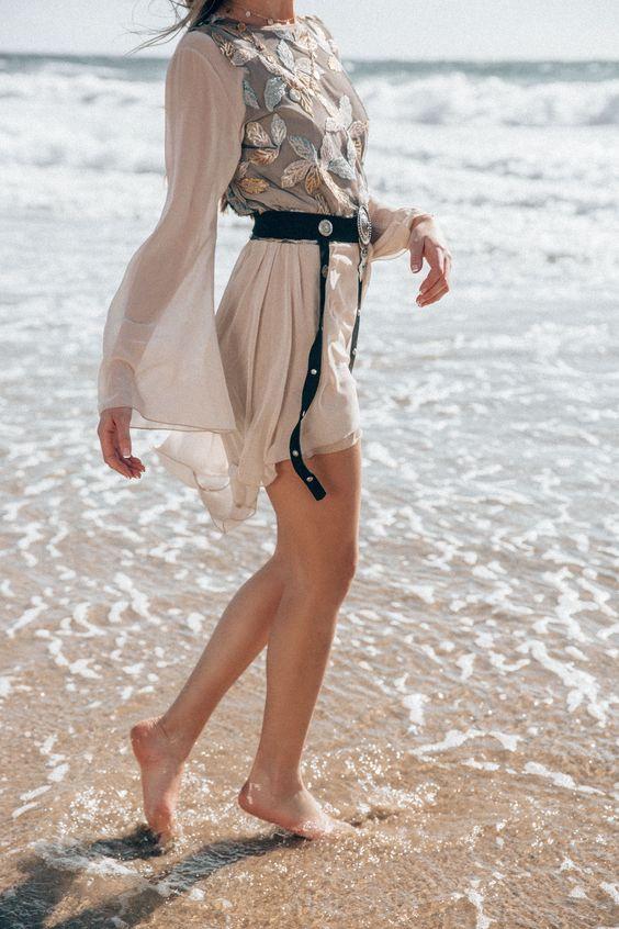 Nidodileda SS 2018 Lookbook. Photography by Champagne Victoria  #retro #vintage #nidodileda #champagnevictoria #champagneunicorns #photoshoot #editorial #highfashion #boho #bohemian #gypsy #ocean #sea #beach #dress #swim #swimwear #lace #couture #fashion #nighwear #occasion #hannamontazami