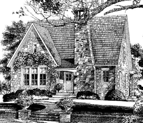 Southern Cottage House Plans: Hillstone Cottage - Dungan-Nequette Architects