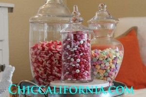 Apothecary Jars - Chic California