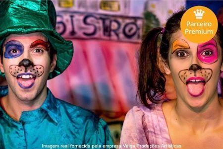 Ingresso para A Dama e o Vagabundo A Dama e o Vagabundo – Teatro Municipal de Ribeirão Preto: ingresso individual para o dia 15/03