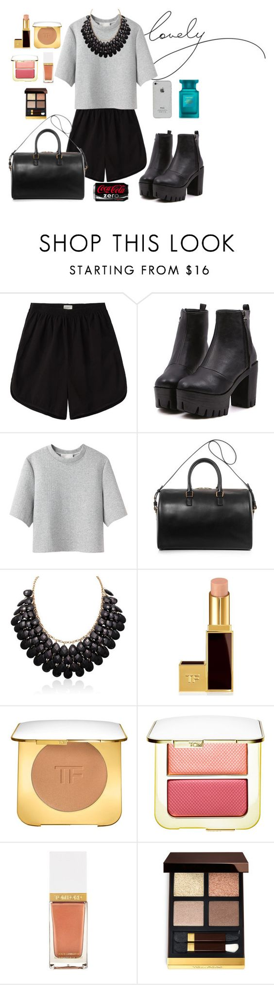 """"""""""" by kononiha ❤ liked on Polyvore featuring Base Range, 3.1 Phillip Lim, Yves Saint Laurent and Tom Ford"""