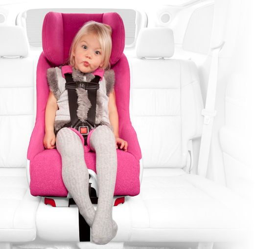 Love this pink convertible car seat, foonf by clek