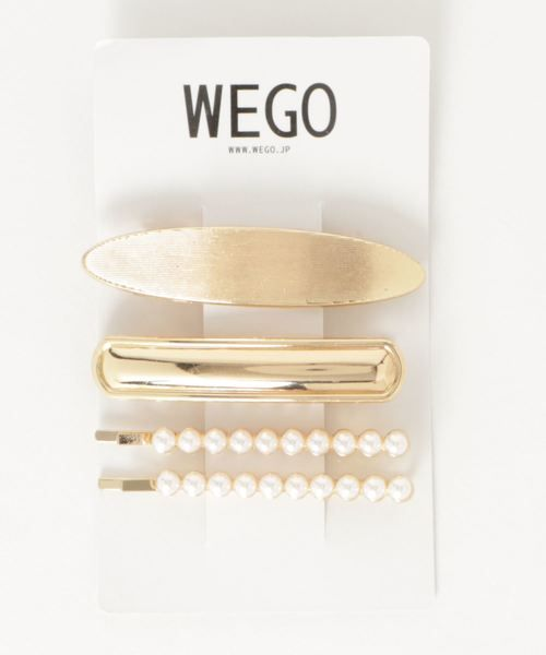 Zozotown Wego ウィゴー のバレッタ ヘアクリップ Wego メタル