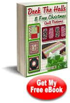 Free #eBook from FaveQuilts.com: Deck the Halls: 8 Free #Christmas #Quilt Patterns