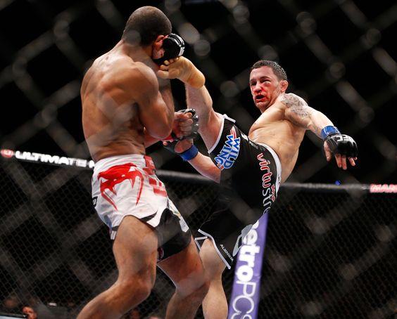 High Kick from a Little Warrior   Frankie Edgar vs Jose Aldo