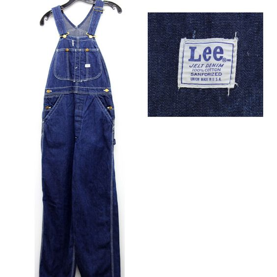 Vintage Overalls/Coveralls - Bib and brace & Vintage Clothing