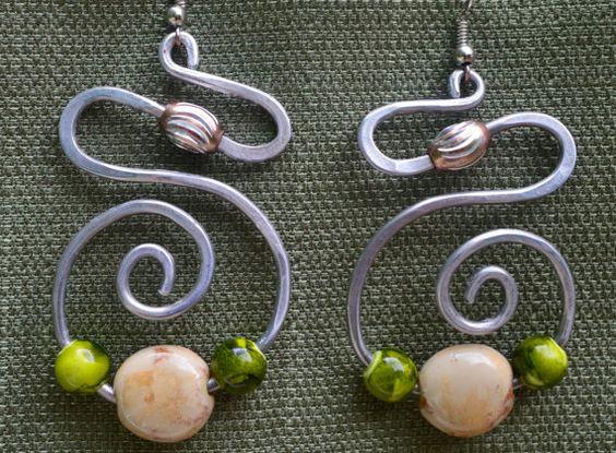 Grapevine Celtic Earrings