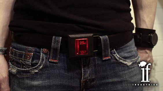 Arcade Coin Slot Belt: