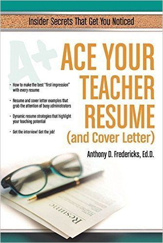 Ace Your Teacher Resume (and Cover Letter) Insider Secrets That - great cover letter secrets