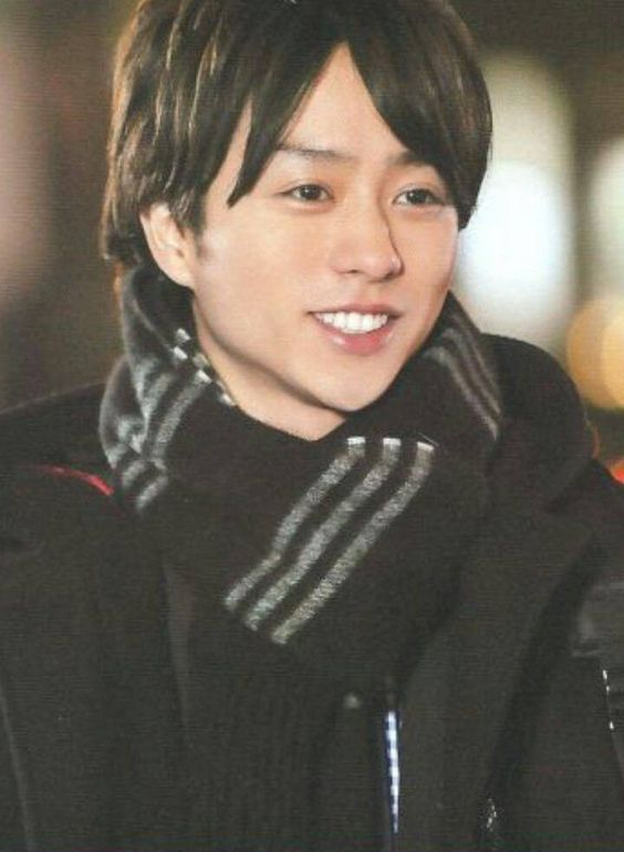 櫻井翔の笑顔