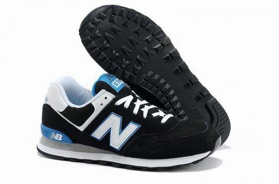 2014 Joe New Balance ML574KWB Black White Blue Mens Shoes