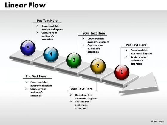 Powerpoint Process Flow Template En 2021 Dessins Industriels