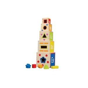 Educo Pyramid of Play - nesting and sorting