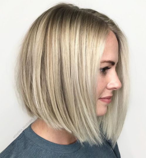 Low Maintenance Blonde Bob In 2020 Haircuts For Fine Hair Bobs For Thin Hair Bob Haircut For Fine Hair