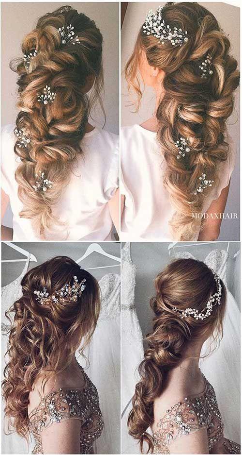 Best Wedding Long Hairstyles Long Braided Wedding Hairstyle Wedding Hairstyle Braid Hair Styles Long Hair Wedding Styles Braided Hairstyles For Wedding
