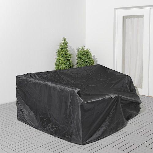 Housses Salon De Jardin Ikea En 2020 Housse Salon De Jardin Canape Noir Mobilier De Salon