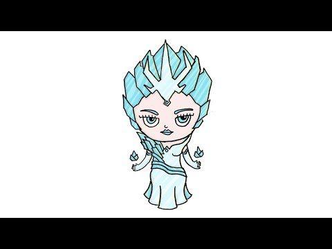 Cara Menggambar Aurora Mage Mobile Legend Dengan Style Chibi Kartun Youtube Chibi Kartun Cara Menggambar