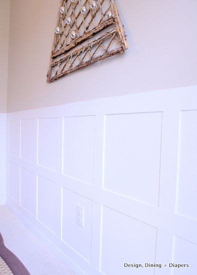 My board batten wainscoting reveal and how to other