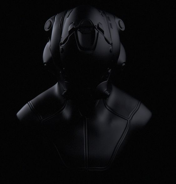 Pilot's Helmet, Mike Jensen on ArtStation at https://www.artstation.com/artwork/pilot-s-helmet