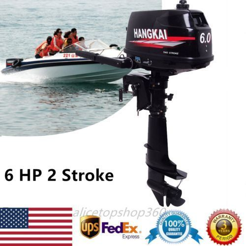 2 Stroke 6hp Outboard Engines Fishing Boat Engine Outboard Motor Water Cooling Ebay Link Coolboataccessorie Boat Engine Outboard Motors Outboard Boat Motors