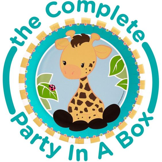 Giraffe 1st Birthday Party in a Box from BirthdayExpress.com