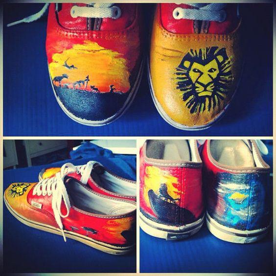 The Lion King Vans