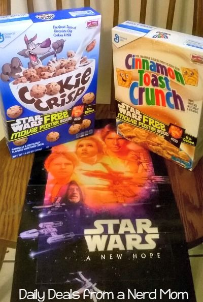 General Mills/Star Wars Giveaway {US - ends 5/11/15}