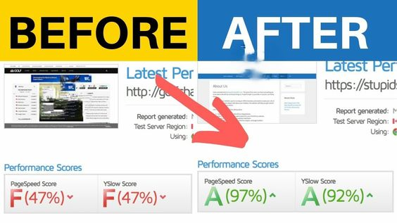 ways to get good speed score for website | how to get 90 website speed score test - CTM
