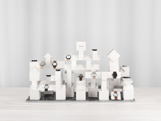 TID Display Blocks is a minimalist design created by Sweden-based designer Form Us With Love. (1)