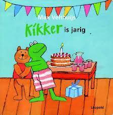 prentenboek kikker is jarig thema verjaardag