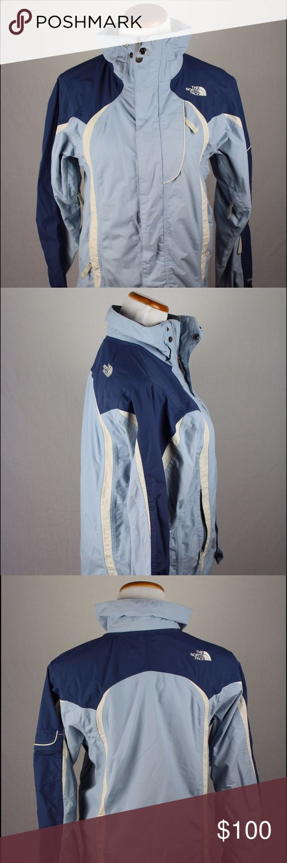 North Face Women's Windbreaker Jacket Female small blue North Face windbreaker jacket. This North Face windbreaker jacket was hand picked and professionally cleaned before selling it to you! SKU in warehouse is # 532. North Face Jackets & Coats